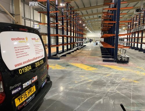 Large Warehouse Clean